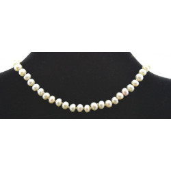 White pearls necklace