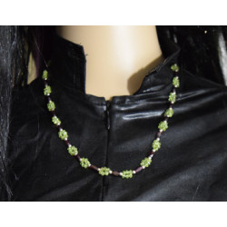 Olivine necklace