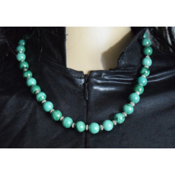Malachite necklace