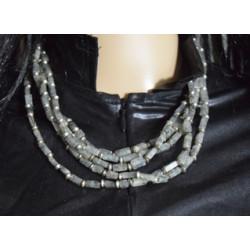 Musky quartz necklace