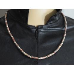 Arboreal jasper necklace