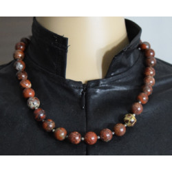 Madagascar agate necklace