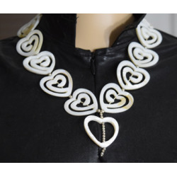 Hearts necklace