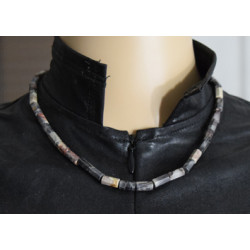 Musky quartz necklace