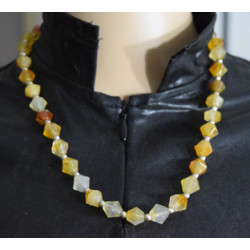 Exhausted necklace