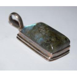 Dark labradorite pendant