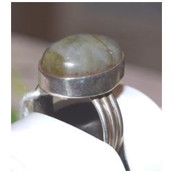 Dark labradorite ring