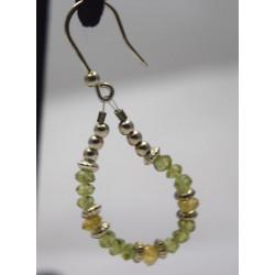Olivine earrings