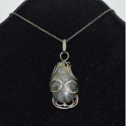 Dark labradorite necklace